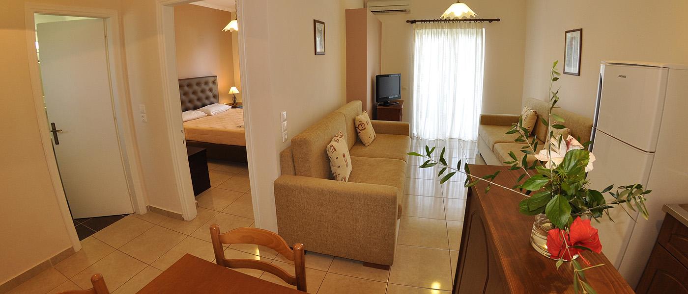 Corfu Apartments, Kommeno Bella Vista   Apartments on Corfu